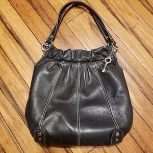 FOSSIL BUCKET LEATHER BAG